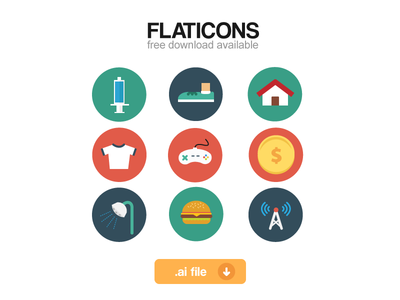 Download Flaticons full set