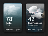Small Weather Widget