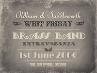 Brass Band Flyer