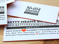 BMB Business Cards
