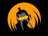 Batman (orange background)