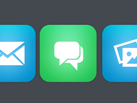 Flat iOS Icons Preview