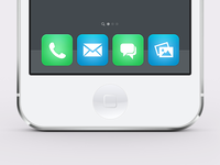 Ios7 Flat Icons Mockup Preview