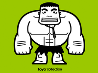 toyo collection - Superhero edition