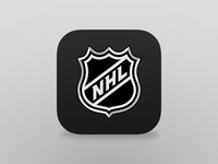 iOS7 NHL GameCenter Icon
