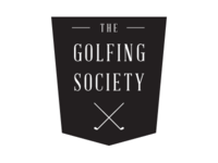 The Golfing Society Logo Idea - Black