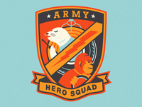 AD Hero Squad Patch