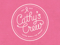 Cathy's Crew T-shirt Design