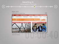 Meeting User Interface