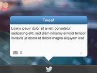 Twitter Widget for Windows