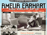 Amelia Earhart Website 2