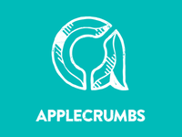 2012 Applecrumbs Logo (grunge version)