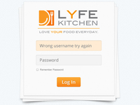 Lyfe Kitchen Login D