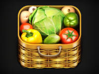 Vegitables Tree IOS Icon