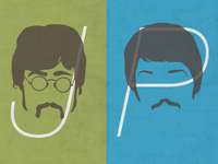 beatles typeface