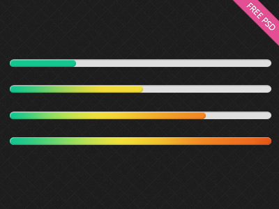 Colorful-progress-bar