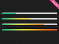 Freebie: Heat Map Progress Bar