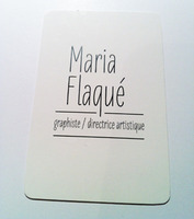 Business card (front)