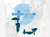 This Shirt Helps - Rain Drops