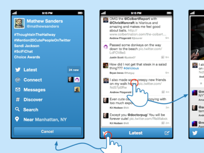 Twitter Client Fun Design 1