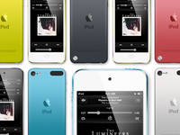 Ipod Touch PSD Template