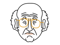 Larry David Portrait
