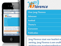 Jong Florence Mobile Website
