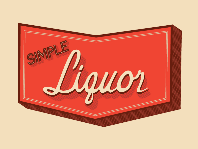 Simple Liquor Logo Final - Vector
