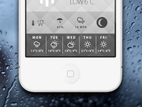 Yet another simple weather app.