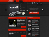 Intrax Website