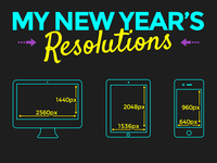 My New Year's Resolutions