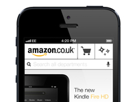Amazon Mobile Website Concept 2