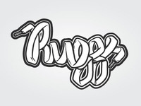 """DJ Ruggs"" Logo Design"