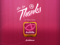 Dribbble Thank High Dpi