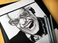 Ray Charles Drawing