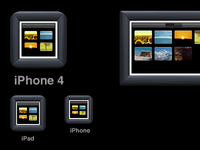 PicsEngine iOS icons