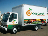 Daybreak Logo (On a Truck)