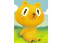 Yellow bear-
