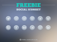 Freebie Social Icon Set