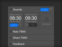 TiMiX Settings 3