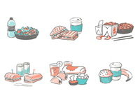 Menu App - Food Icons