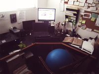 Semi-elevated workspace
