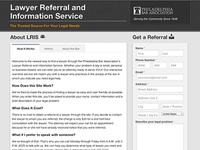 Lawyer Referral and Information Service