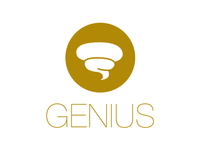 Genius Logo concept - THE HI-TECH POO