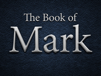 Title Screen for The Book of Mark