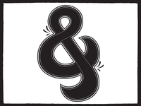 Ampersand - Decorated