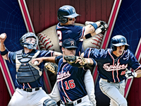 Richmond Spiders Poster