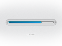 Blue Loading bar