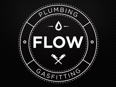 Flow Plumbing and Gasfitting Stamp