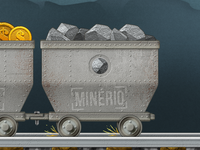 Game - Mine Cart Detail